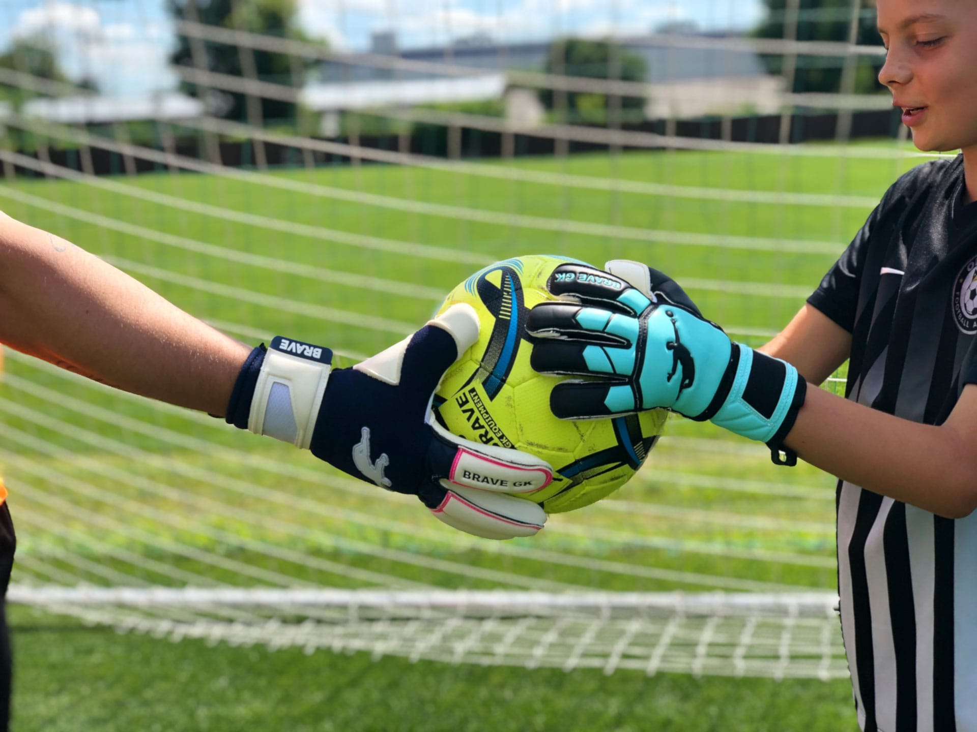 Children's goalkeeper gloves Brave GK Winner-official online store Brave GK
