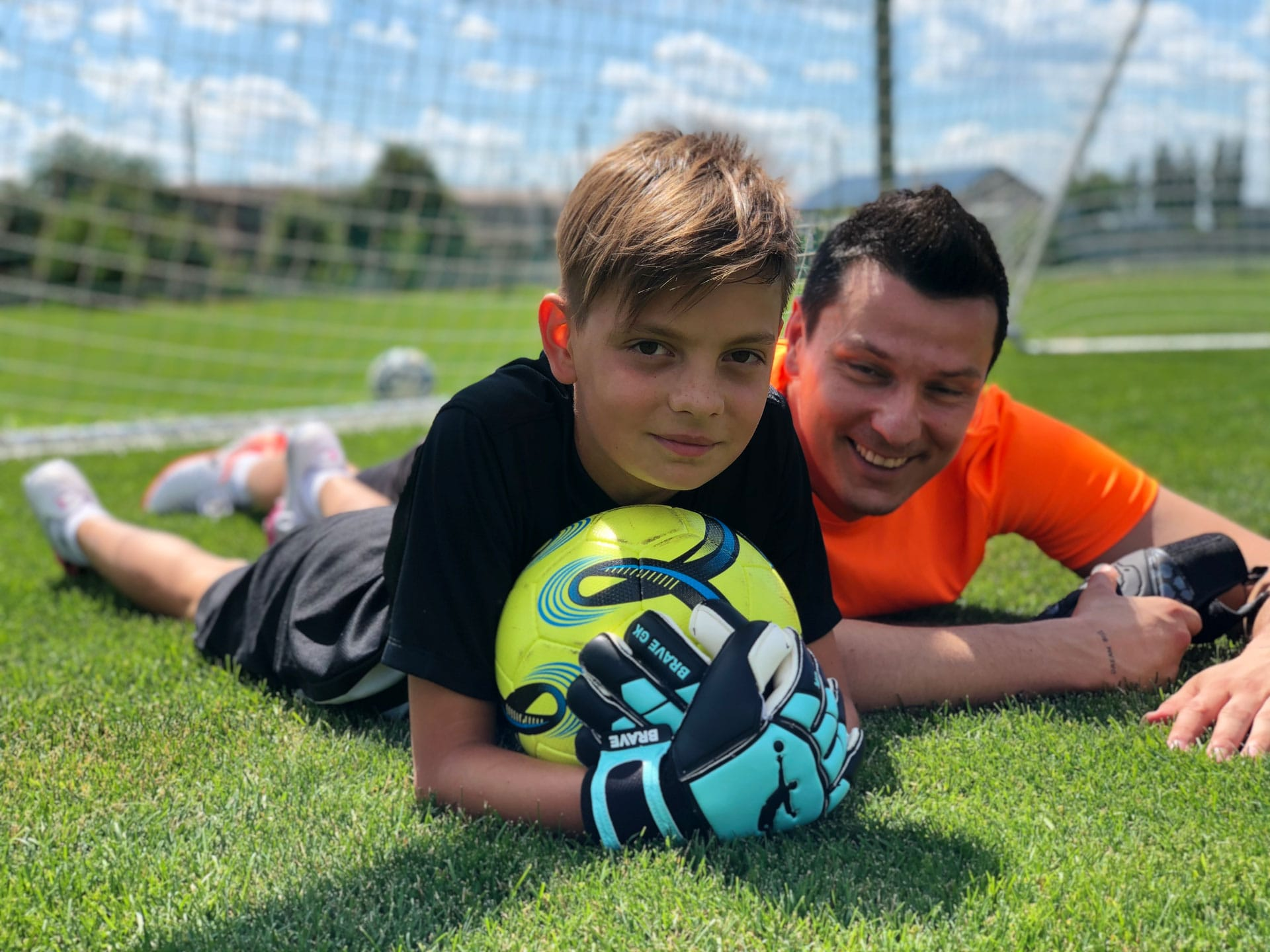 Дитячі воротарські рукавиці Brave GK Winner-інтернет-магазин Brave GK