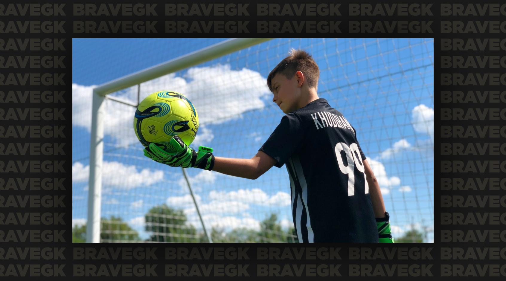 Children's goalkeeper gloves Brave GK Extreme official online store Brave GK