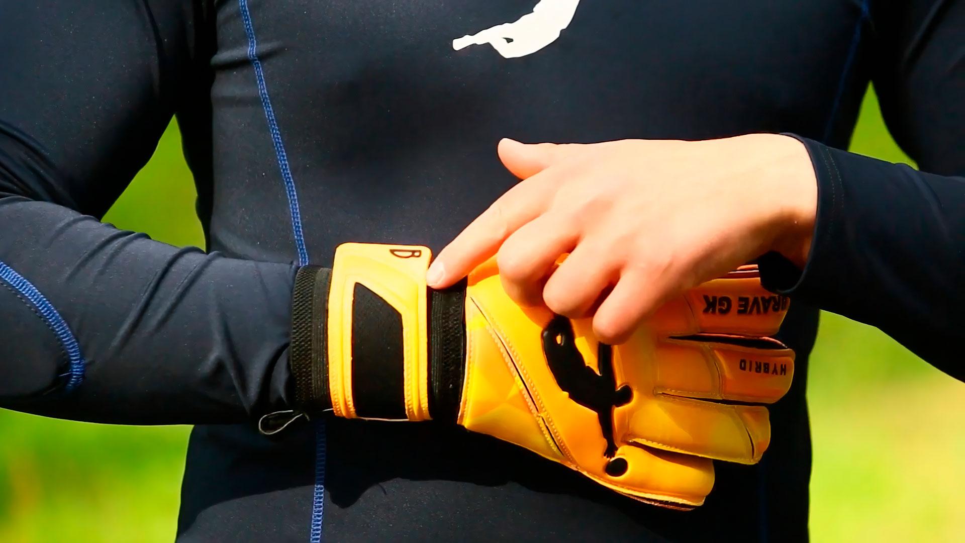 Goalkeeper gloves Brave GK Hybrid-official online store Brave GK