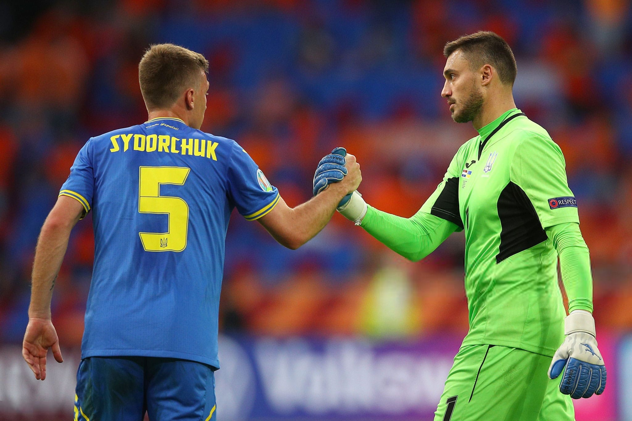 First appearance of Brave GK at the European Championship - Brave GK