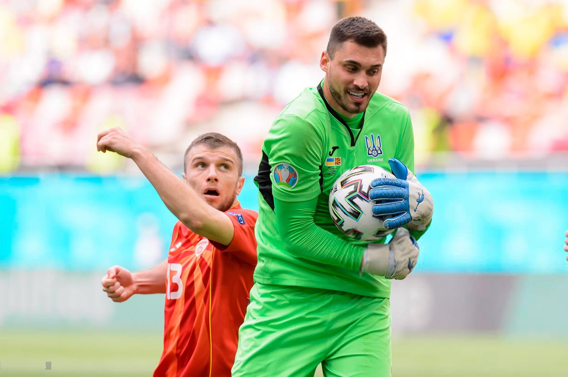 Georgy Bushchan at the European Championship - Brave GK