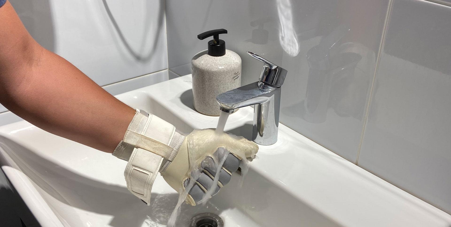 Brave GK Catalyst Grey means for protection of goalkeeper gloves online store Brave GK