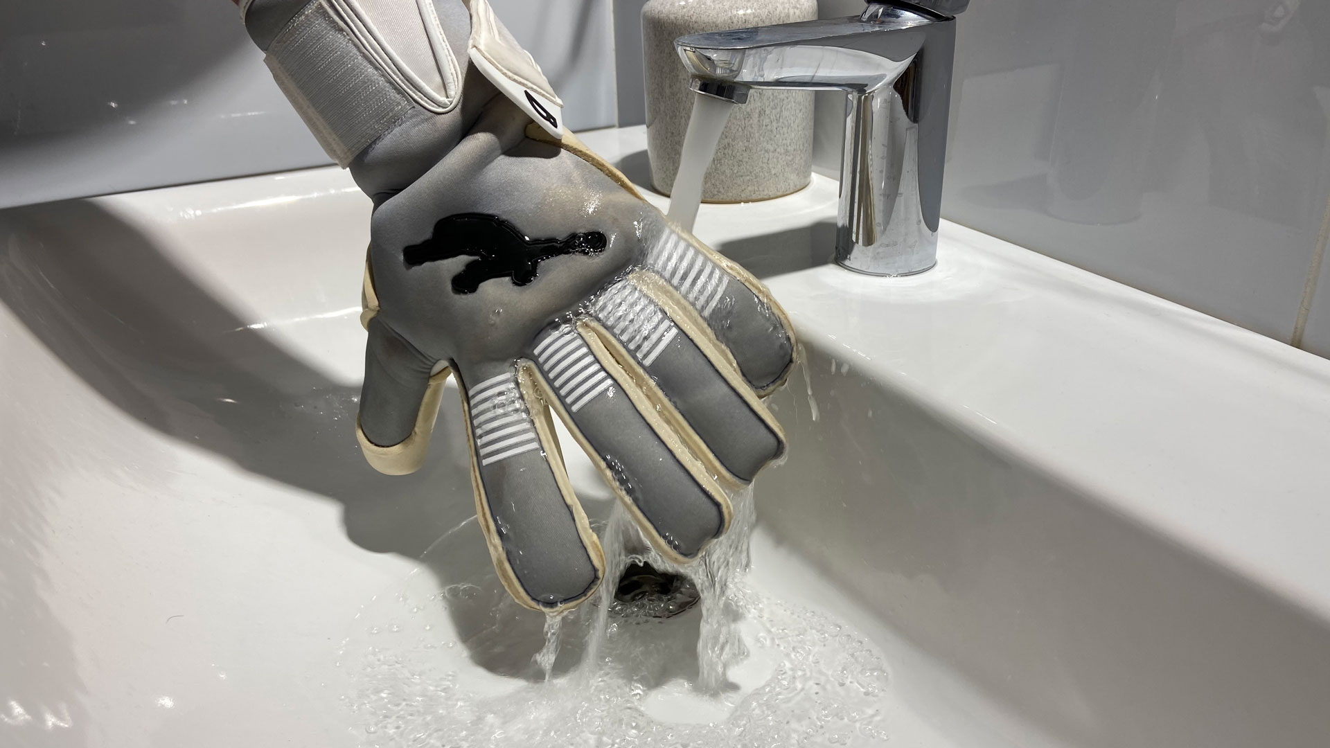 Brave GK Catalyst Gray means for protection of goalkeeper gloves online store Brave GK