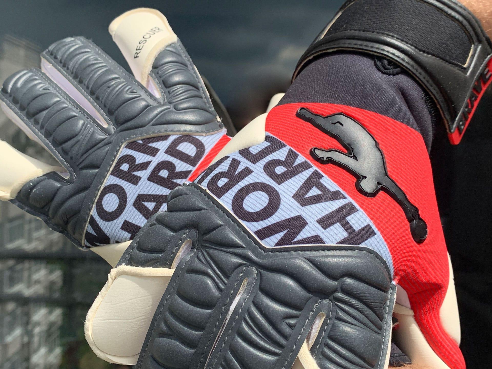 Creating Brave GK goalkeeping gloves Brave GK