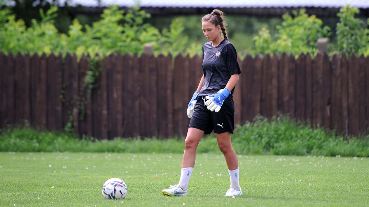 The new goalkeeper of Shakhtar's women's team is Victoria Petrovets