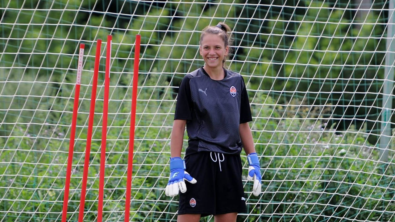 Victoria Petrovets is the goalkeeper of the women's team FC Shakhtar